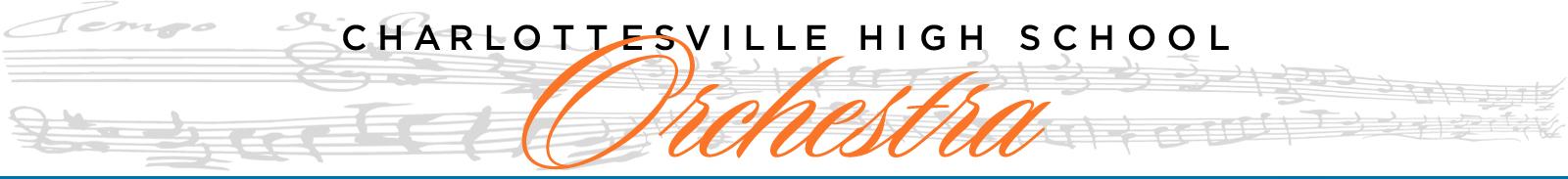 Charlottesville High School Orchestra